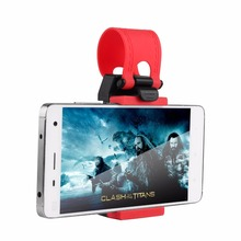 1pcs Colorful Steering-Wheel Phone Holder For Cars Quality Plastic Stand For Cell Phone GPS Mount Retractable Cradle Bracket