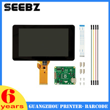 SEEBZ Newest 7inch Touch screen Display 10-fingers 800 x 480 Touch Screen For Raspberry Pi 3-B /2-B/B+/A+(China)