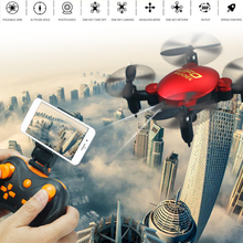 Portable RC Quadcopter White Photo Taking 360degree Roll Pocket Aircraft Head Free Mode High Definition Mini Drone(China)