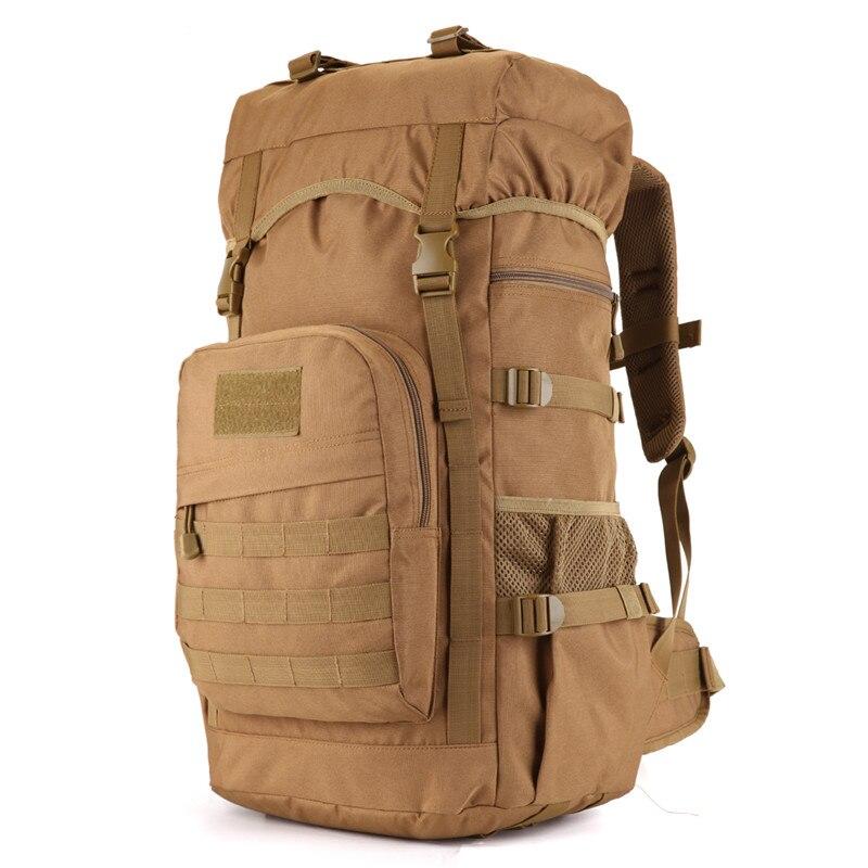 60 litres bags bag multi-purpose travel backpack large 3D Military 17Laptop nylon Leisure Bag high grade wearproof Dual-use bag<br>