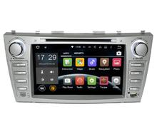 Best Car DVR Quad core 1024*600 HD 2 din Android car dvd player For CAMRY 2007-11 auto radio double din with google play
