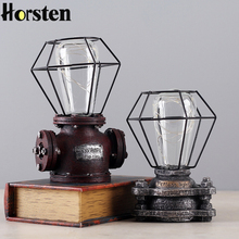 Horsten Vintage Table Lamp Retro Coffee Shop Table Lamp Personality Decoration Retro Bedside Light For Bedroom Table Desk Light