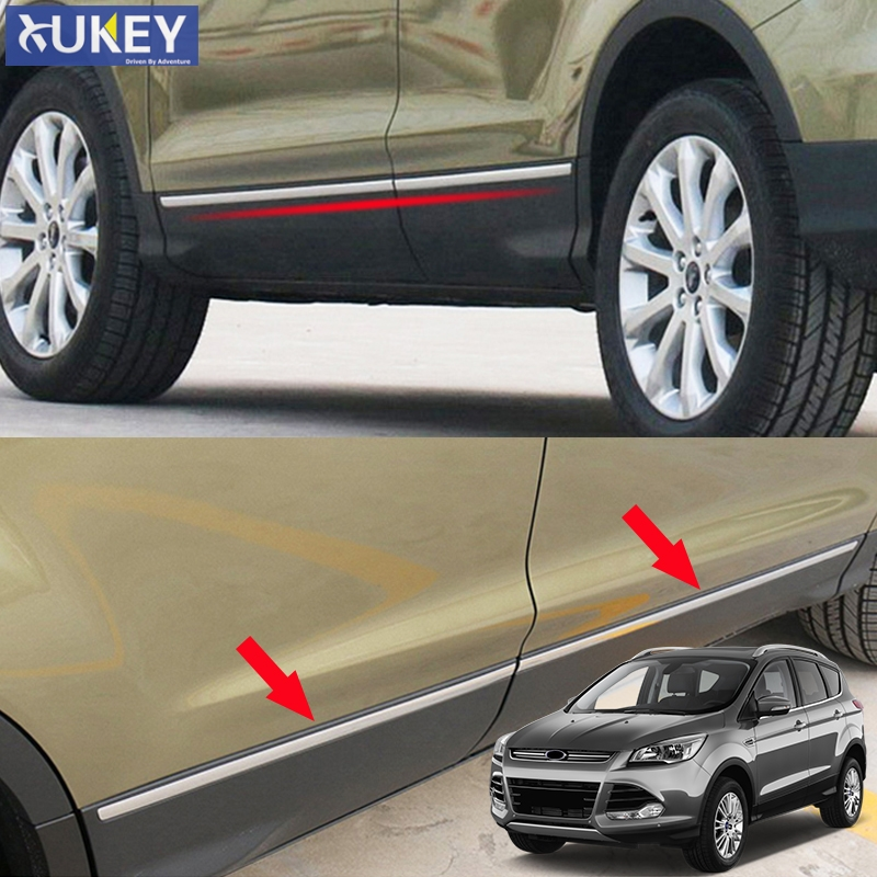4pcs  ABS  Side Door Garnish Milding Trim For  Hyundai Tucson IX35 2013-2015