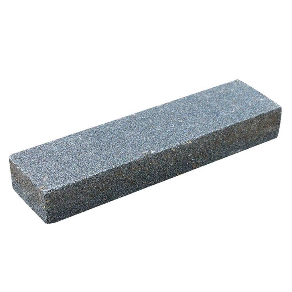 Afilador de actividades al aire libre Piedra de afilar Afilador de herramientas de grano de piedra afiladora cuadrada para accesorios de cocina Herramienta Gris