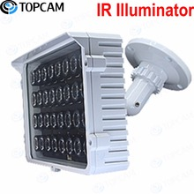 IR Illuminator 20-180meters 32pcs 42U Array IR Led Light angle 6~90degree optional Power AC 110-250V 64W for CCTV IP camera(China)