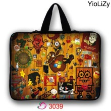7 10 12 13 14 15 17 notebook Bag Mini PC cover Laptop Sleeve 9.7 10.1 11.6 13.3 15.6 17.3 tablet protective case Handbag LB-3039