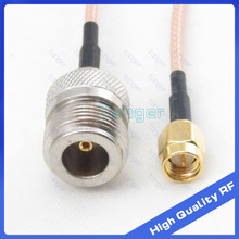 High Quality 8'' RF cable N female connector to SMA male plug with RG316 RG-316 Coaxial Pigtail Jumper LOW Loss cable 8inch 20cm(China)