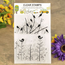 Branches Bird Scrapbook DIY photo cards account rubber stamp clear stamp transparent stamp 11x16cm KW610142