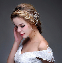 Fashion Bridal Accessories Cheap Modest Fashion Beads Pearls Hand Made Wedding Accessories New Arrive Hot Sale Fascinators