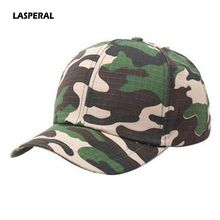 LASPERAL Hot Sale Women Men Sun Protection Hats Camouflage Pattern Outdoor Baseball Caps High Quality Soft Cotton Sunshade Hats