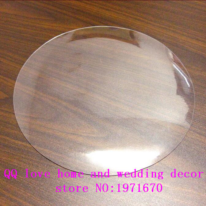 2MM60cm-160cm Soft Glass Table Cloth Transparent Roundtable Pad Dining Table Mat Tablecloth Disposable Waterproof Overlay(China)