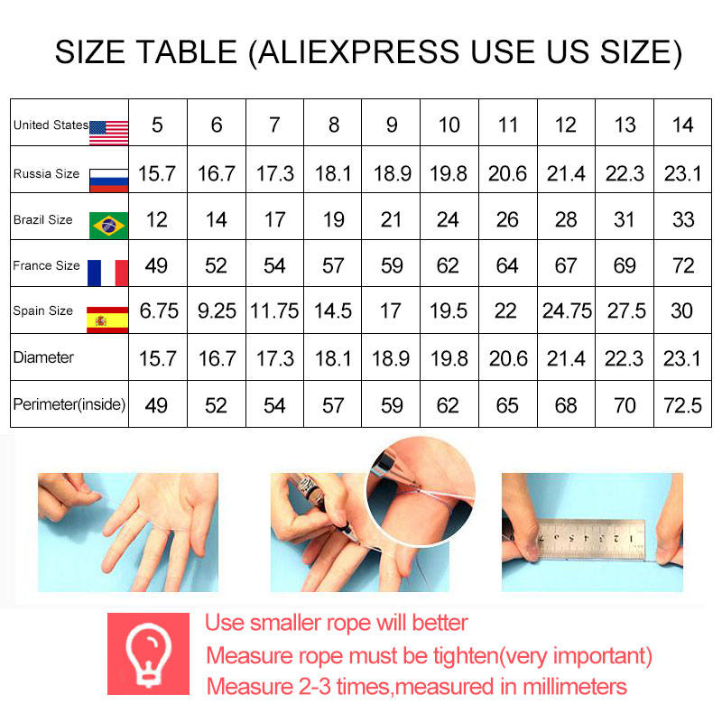 size table-2