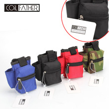 Coil Father Master Pbag for Vapor ECigarette Case Double Deck Vape Bag For Rda Box Mod Battery Bag(China)