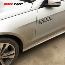 VOLTOP Air Inlet Intake Hood Car Stickers Ornaments Paint Surface Scratch Cover Car-styling Auto Decorative Sticker Decal Film