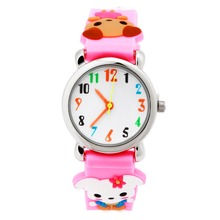 Children Silicone Wristwatches Waterproof Kid Watches Brand Pink Quartz Wrist Watch Baby For Girls Boys Fashion Casual Reloj