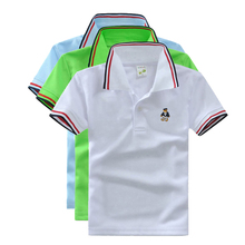 Buy High Unisex Kids Summer Clothes Boys Girls Shirts Short Sleeve Tops Tees Cotton Brand Children Striped T Shirt for $6.49 in AliExpress store