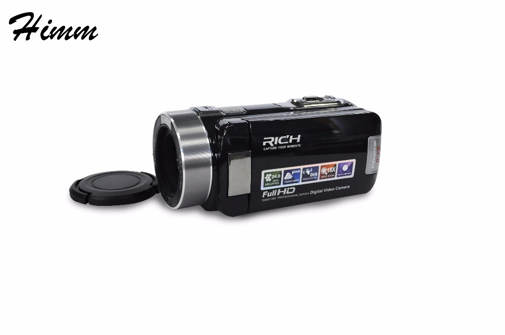 "Portable Infrared Video camera 1080P HD 18x Zoom 3.0"" TFT LCD Digital Video Camcorder Camera DV DVR HD-1000 RICH HD1000"