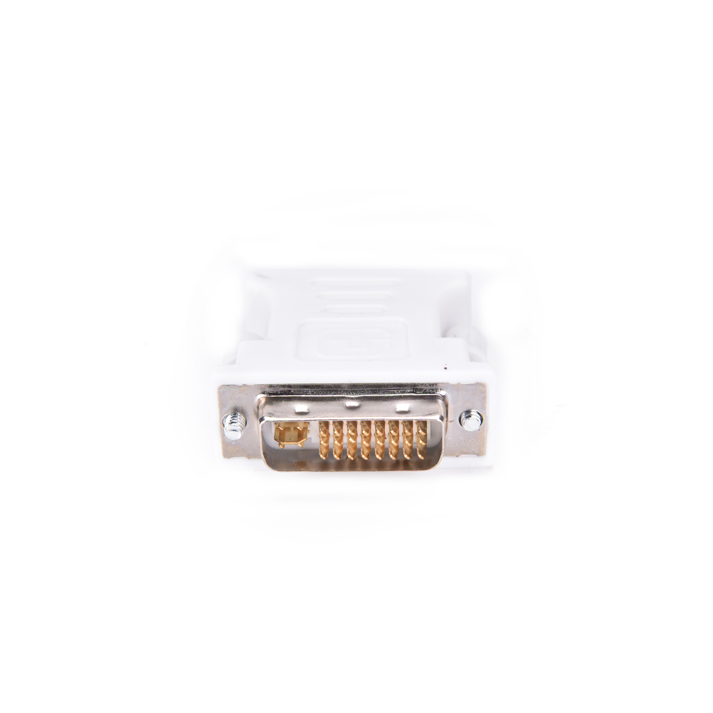 15 Pin VGA Female to 24+5 pin DVI-D Male Adapter Converter for PC Laptop 1 X VGA Video Converter