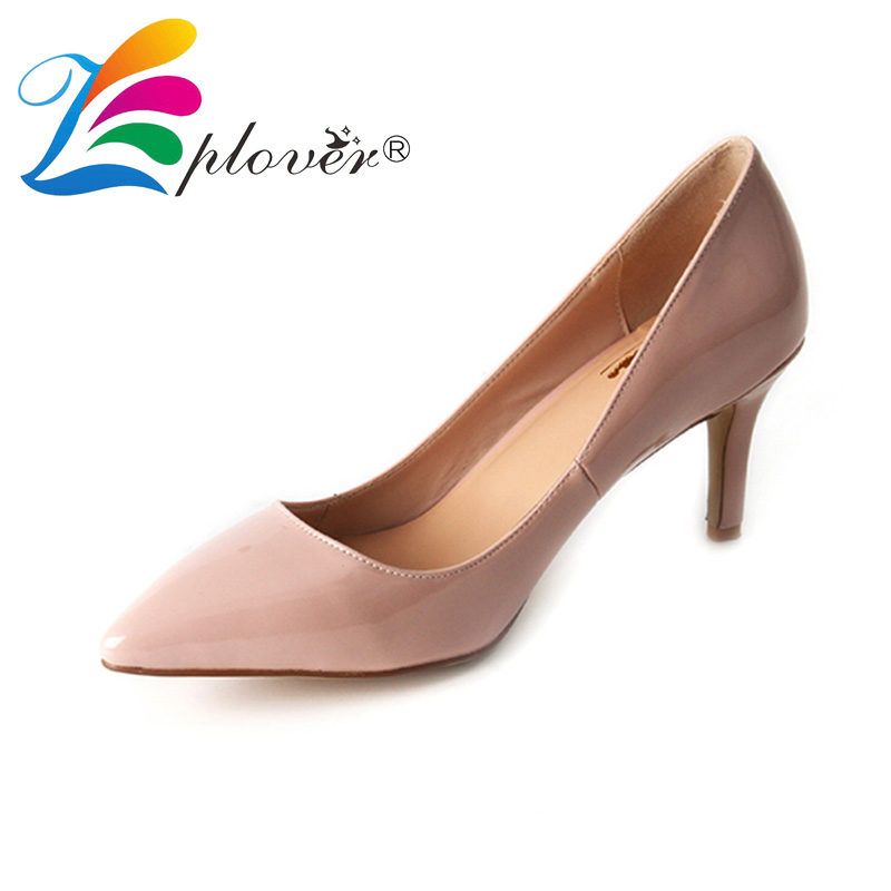 Zplover Brand Shoes Woman Pumps Pointed Toe Low Heels Ladies Shoes Sexy Thin Heel Wedding Shoes Stiletto Women Party Footwear <br>