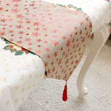 2017 Christmas 175*35cm Table flags home decoration coffee table stylish simplicity flag table runner for festive decoration
