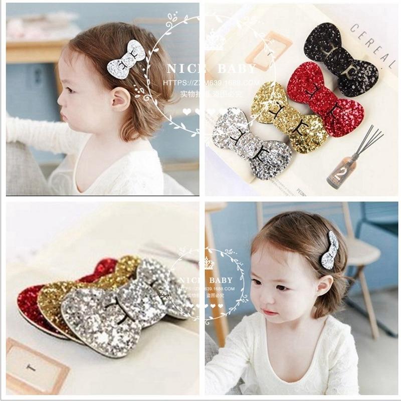 2pcs/lot kids girl Hair Barrette Hairpins Hair Clips Accessories pins bows For Girls Hairgrip Hair snap ornaments Headwear<br><br>Aliexpress