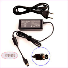"For Sanyo CLT1554 CLT2054 20"" LCD TV Monitor Netbook Ac Adapter Power Supply Charger 12V 5A 4-Pin(China)"