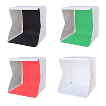 LED Photography Light Room Photo Studio Light Tent Cube Soft Box Backdrops LF773-LF775