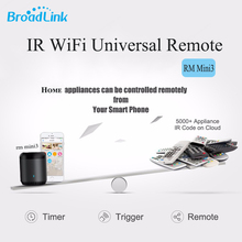 Original Broadlink RM Mini3 Universal Intelligent WiFi/IR/4G Wireless Remote Controller Via IOS Android Smart Home Automation