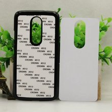 DIY PC cover For Motorola MOTO M sublimation 2D blank case moto M with white aluminium metal sheet 100pcs/Lot