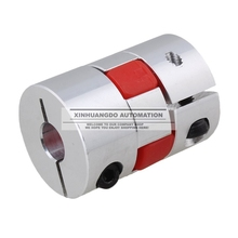 D30 L42 CNC Flexible Jaw Spider Plum Coupling Shaft Coupler 5/6/7/8/9/10/11/12/14/16(China)