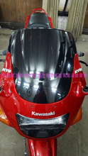 New Top quality For Kawasaki ZZR400 ZZR 400 1993-2007 ABS bike motorcycle/motorbike Windshield/Windscreen Black