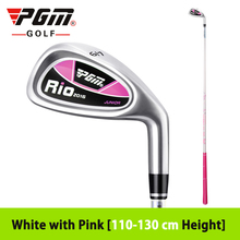 New Carbon Rod Children's Golf Iron Boy Driver Girls Beginner Exercise 7 Iron Inferior Steel Ultralight Right-hand Graphite Club(China)