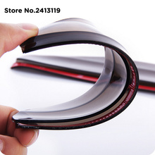 Car rearview mirror rain eyebrow For Ford f150 f250 focus3 focus2 Focus mk2 Kuga Ka Fiesta Hatch F-Series Fusion for mondeo(China)