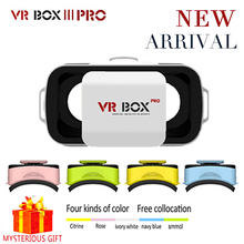 Casque Vrbox VR Box 3.0 Pro 3D 3 D Virtual Reality Glasses Goggles Headset Helmet For Smartphone Smart Phone Google Cardboard