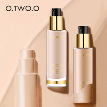 O.TWO.O Invisible Cove Foundation Make Up Moisturizer oil control Whiteningl Waterproof Liquid Foundation Base Make Up(China)