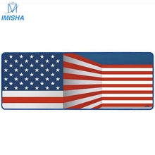 Imisha Personality Super large Speed Edition78X30X4 MM  UK USA Flag Rubber mouse pad game tablet mouse pad with edge locking