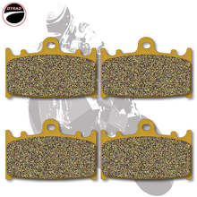 Motorcycle Brake Pads Front For KAWASAKI ZZR 1200 02-05 VN 1700 09-13 VN 2000 04-10