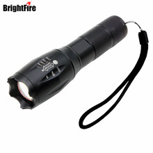 3800 Lumens XML-T6 LED Flashlight 5 Modes Zoomable Adjustable Focus Tactical Flashlight for Hunting Cycling Climbing Camping(China)