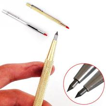 1pcs Tungsten Carbide Tip Scriber Etching Engraving Pen Marking Jewelry Engraver Lettering Metal Tool(China)
