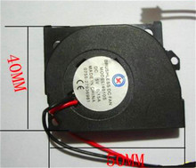 1pc 4010S ( 50x40x10mm) 5V Brushless DC Cooling Blower Fan 2 Wires(China)