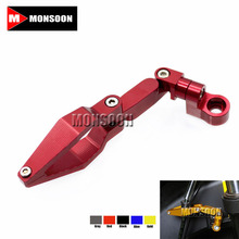 For SUZUKI GSX-S1000/GSX-S1000F GSR600/750 GSX-R600/750/1000 DL650/DL1000 HAYABUSA GSXR1300 Motorcycle Brake Line Clamp Red