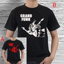 Grand Funk Blues White Red Black T Shirt Cotton S M L XL XXL Size T Shirt Hot Sale Clothes(China)