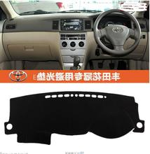 Voor toyota corolla 2003 2004 2005 2006 dashmats auto-styling accessoires dashboard cover RHD(China)