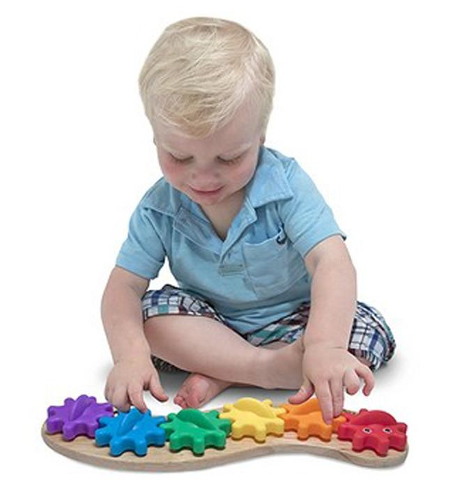 Candice guo wooden plastic toy montessori kid birthday christmas gift toddler rainbow caterpillar gear shape assemble match game<br><br>Aliexpress