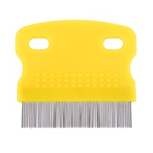 Brand New Pet Dog Puppy Hair Shedding Comb Grooming Pin Brush Trimmer Tool(China)