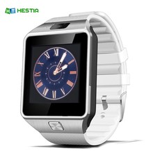 HESTIA DZ09 Smart Watch With Camera Bluetooth WristWatch SIM Card Smartwatch For Ios Android Phones Support Multi languages(China)