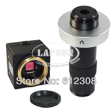 Mini MINTRON Digital CCD Microscope Camera BNC Color Video Output + C-MOUNT Lens for Lab Industrial PCB  Freeshipping