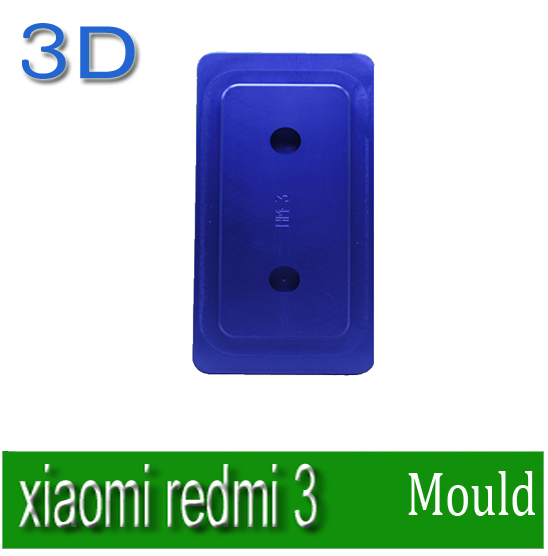 Heat transfer mould Solid Aluminium Alloy 3D heat press Phone case Mould for xiaomi redmi 3<br><br>Aliexpress