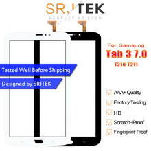 "Srjtek 7 ""Für Samsung Galaxy Tab 3 7,0 SM-T210 SM-T211 SM T210 T211 Touchscreen Digitizer Glas Panel Sensor tablet Ersatz(China)"