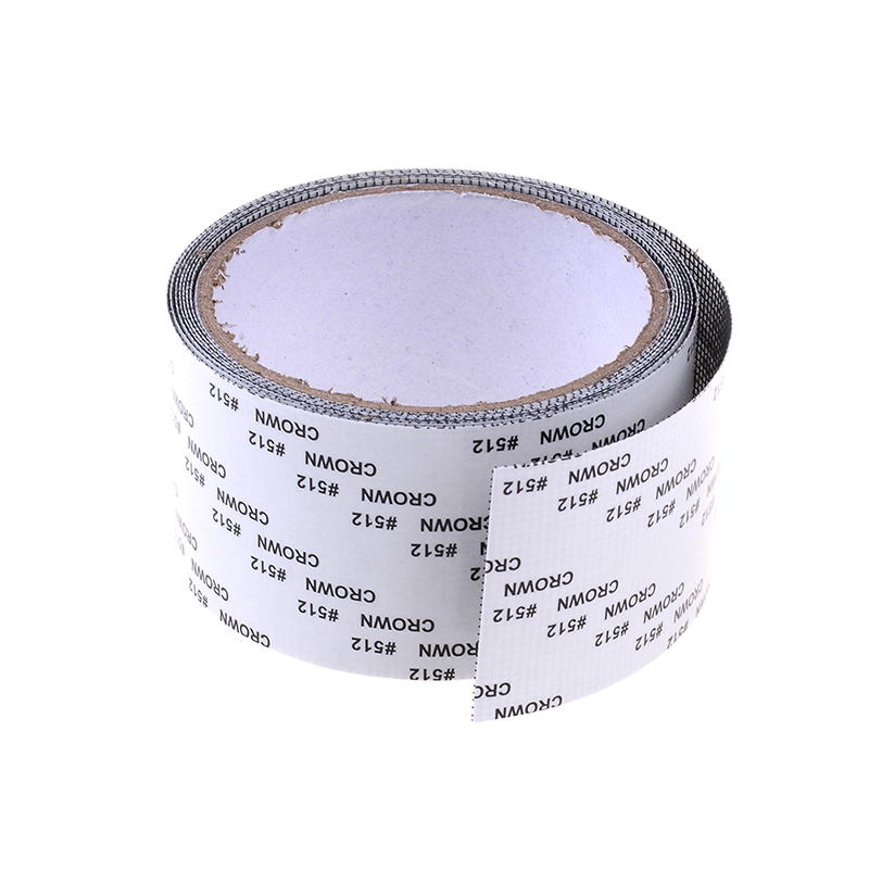 2M Door Window Net Sticky Roll Tape Patch Insects Screen Repair kit Mosquito
